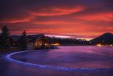 Everygreen Lake Sunrise Reproduction photographique par  Darren White Photography