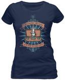 Juniors: Fantastic Beasts- Wand & Case - T-shirt