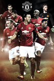 Manchester United- Team Plakat