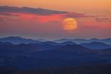 Supermoon at Sunrise Reproduction photographique par  Darren White Photography