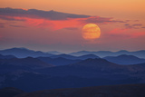 Supermoon at Sunrise Photographic Print by  Darren White Photography