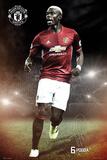 Manchester United- Pogba Kunstdrucke