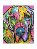 Bloodhound Giclee Print by Dean Russo