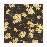 Yellow Blossoms Lámina giclée por Stephanie Marrott