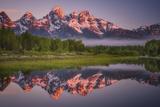 Teton Awakening Reproduction photographique par  Darren White Photography