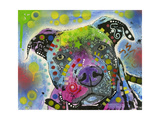 American Staffordshire Terrier Giclee Print by Dean Russo