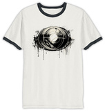 Dr Strange- Dripping Eye of Agamatto  (Ringer) T-Shirts
