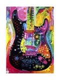 Lenny Strat Giclee Print by Dean Russo