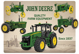 John Deere Collage Tin Sign
