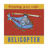Helicopter Giclee Print by Stephanie Marrott