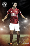 Manchester United- Ibrahimovic - Poster