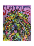 Shih Tzu Luv Giclee Print by Dean Russo