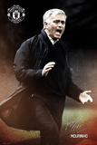 Manchester United- Mourinho Kunstdrucke