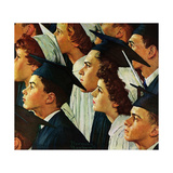 Bright Future Ahead Giclee Print by Norman Rockwell