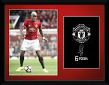 Manchester United - Pogba 16/17 Wydruk kolekcjonerski