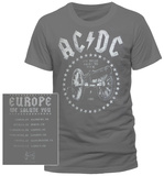 AC/DC- Europe We Salue You (Front/Back) Vêtements