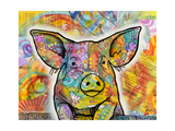 The Pig Giclee Print by Dean Russo