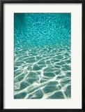 The Sun is Reflected in Patterns in a Pool, San Diego, California Prints by Tim Laman