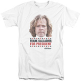 Shameless- Frank For President (Big & Tall) T-shirts