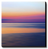 Colorful Horizons III Stretched Canvas Print by Rehner John