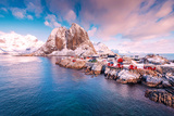 Hamnoy View Photographic Print by Philippe Sainte-Laudy