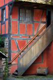The Stairs of the Red House Photographic Print by Philippe Sainte-Laudy