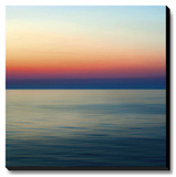 Colorful Horizons II Stretched Canvas Print by Rehner John