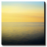 Colorful Horizons I Stretched Canvas Print by Rehner John