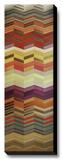 Herringbone I Stretched Canvas Print by Noah