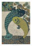 Koi Ornament I Premium Giclee Print by Chariklia Zarris