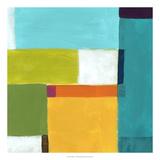 City Square I Giclée-Premiumdruck von June Vess