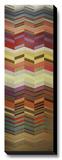 Herringbone II Stretched Canvas Print by Noah