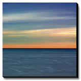 Colorful Horizons IV Stretched Canvas Print by Rehner John