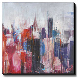 New York in Color Stretched Canvas Print by Haub Markus