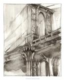 Sepia Bridge Study I Premium Giclee Print by Ethan Harper