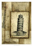 Passport to Pisa Premium Giclee Print by Ethan Harper