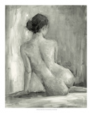 Figure in Black and White I Lámina giclée premium por Ethan Harper
