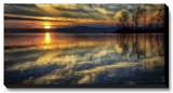 Calling it a Day Stretched Canvas Print by Burt D.