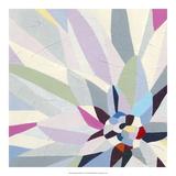 Geometric Dahlia II Premium Giclee Print by June Vess