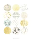 Orbital Patterns I Premium Giclee Print by June Vess