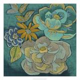 Trousseau Chintz II Premium Giclee Print by Chariklia Zarris