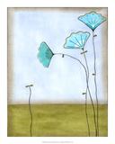 Minna's Garden II Giclée-Premiumdruck von June Vess