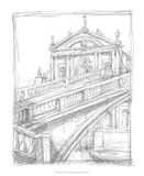 Sketches of Venice I Premium Giclee Print by Ethan Harper