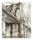 Sepia Bridge Study II Premium Giclee Print by Ethan Harper