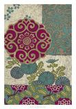 Batik Ornament II Premium Giclee Print by Chariklia Zarris