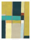 Städtische Reflexionen I Giclée-Premiumdruck von June Vess