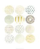 Orbital Patterns II Premium Giclee Print by June Vess