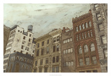 West Village II Premium Giclee Print by Megan Meagher