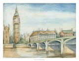 London View Premium Giclee Print by Ethan Harper