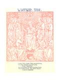 Monochromatic Stylized Religious Imagery Prints
